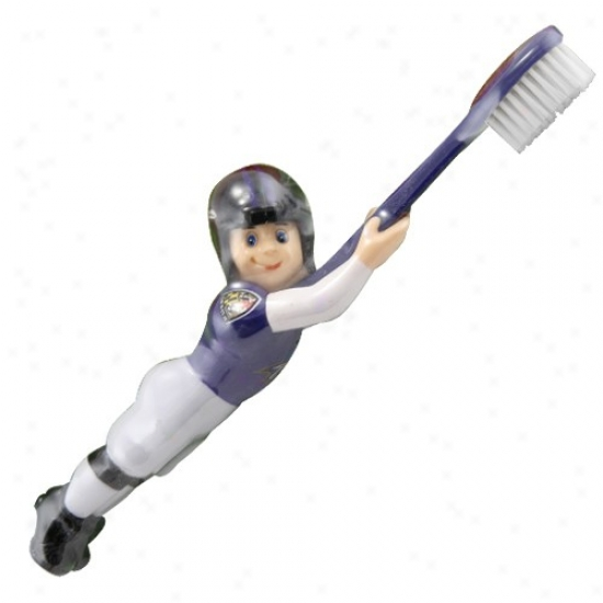 Baltimore Ravens Football Player Toothbrush