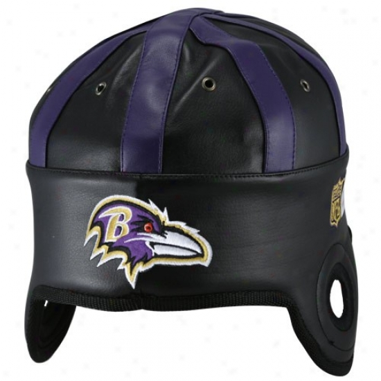 Baltimore Ravens Hat : Baltimore Ravens Negro Helmet Head