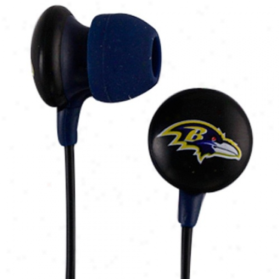 Baltimore Ravens In-ear Headphone Buds