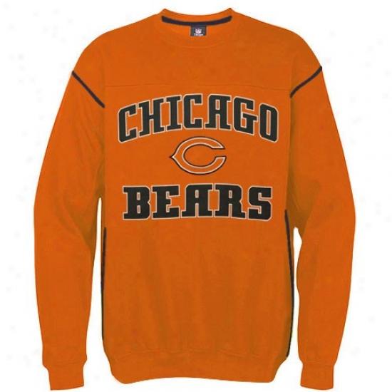 Bears Hoodie : Bears Orange Classic Company Hoodie