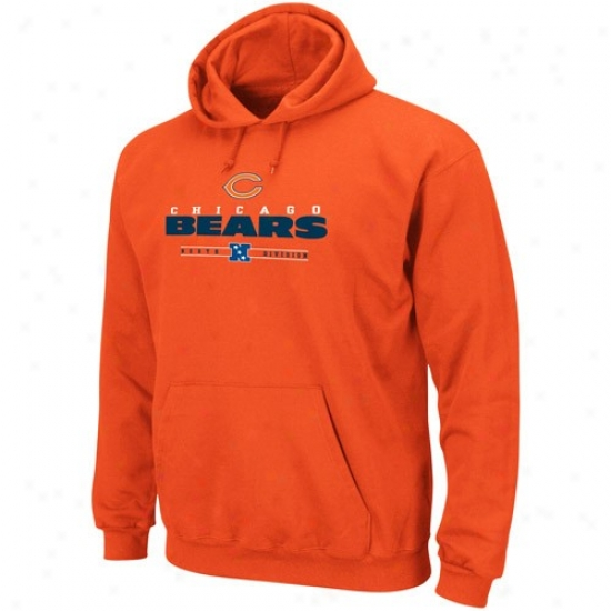 Bears Stuff: Bears Orange Critical Victory Iv Hoody Sweatshirt