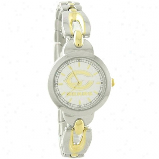 Bears Watch : Bears Ladies Stainless Steel Elegance Watch