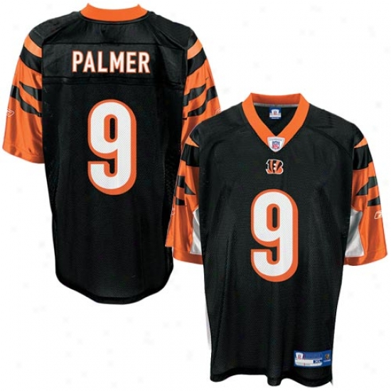 Begnals Jersey : Reebok Nfl Equipment Bengals #9 Carson Palmer Black Toddler Replica Foot6all Jersey