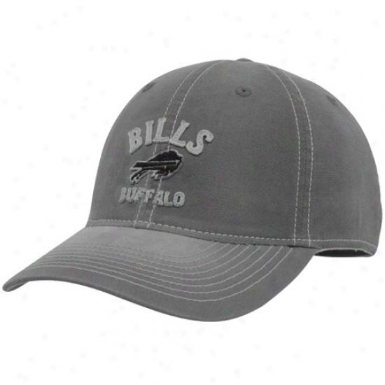 Bolls Array: Reebok Bills Gray Sanddblasted Retro Slouch Flex Fkt Hat