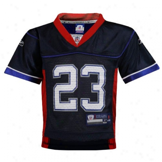 Bills Jersey : Reebok Bills #23 Marshawn Lynch Navy Blue Toddler Replica Football Jersey