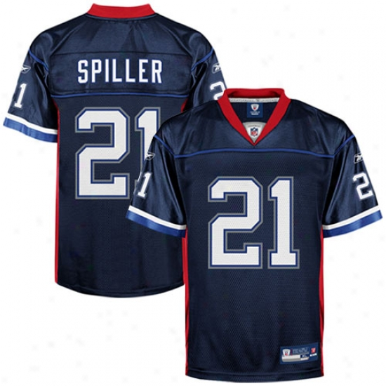 Bills Jerseys : Reebok C.j. Spiller Bills Replica Jerseys - Navy Blue