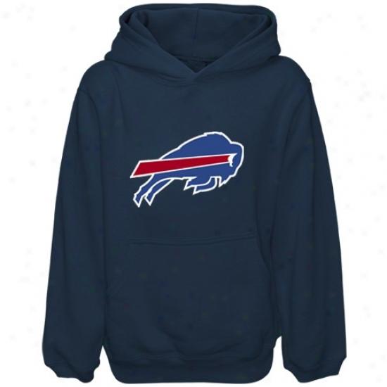 Bills Sweatshirt : Reebok Bills Preschool Navy Blue Primary Logo Sweatshirt