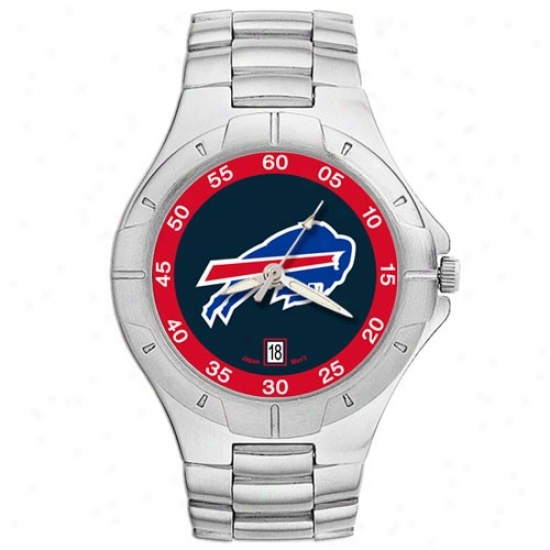 Bills Watches : Bills Men's Pro Ii Watches W/ Stainless Steel Band