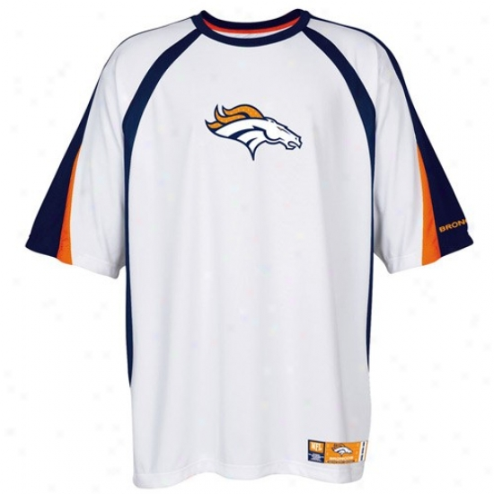 Broncos Shiirts : Broncos White Club Seat Premium Fashion Top