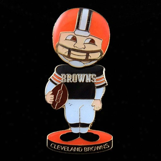 Browns Caps : Browns Bobble Head Football Player Pin