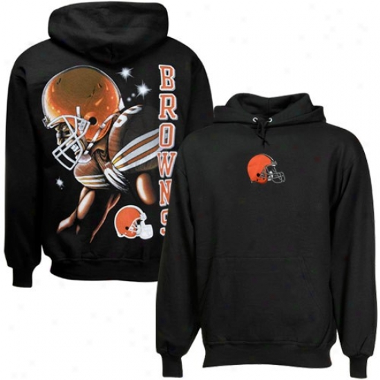 Browns Stuff: Browns Black Game Face Hoody Sweatshirt