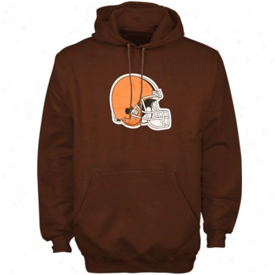 Browns Sweat Shirt : Reebok Browns Brown Youth Helmet Sweat Shirt