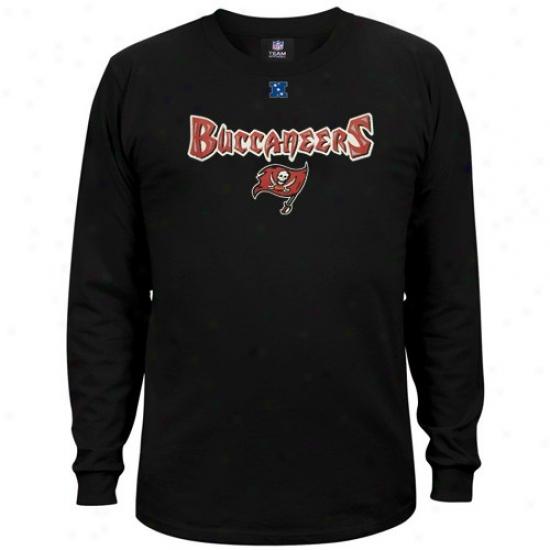 Buccaneers Attite: Buccaneers Black Critical Victory Iii Long Sleeve T-shirt