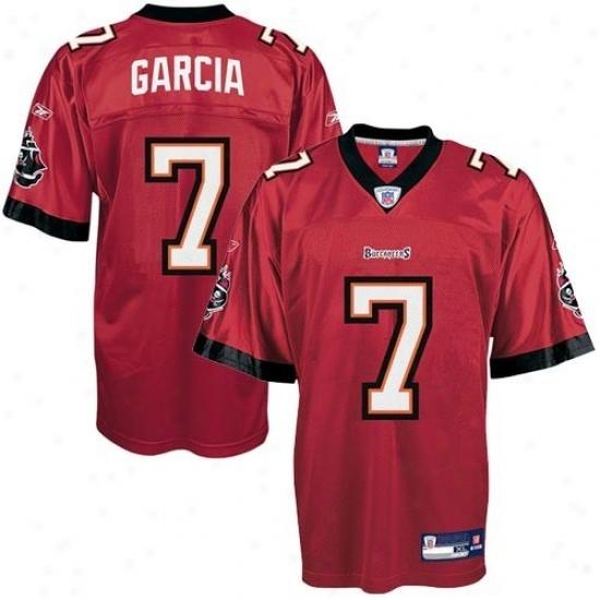 Buccaneers Jersey : Reebok Nfl Equipment Bucvaneers #7 Jeff Garcia Red Youth Replica Football Jersey