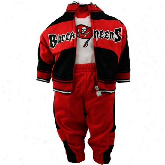 Buccaneers Stuff: Reebok Buccaneers Infant Thrre-piece Warm Up Suit