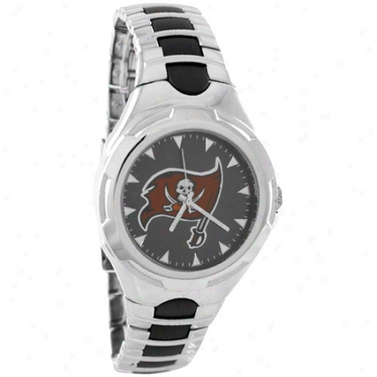 Buccaneers Watch : Buccaneers Sfainless Steel Victory Watch