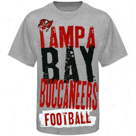 Bucs Apparel: Reebok Bucs Youth Ash Team Pride T-shirt