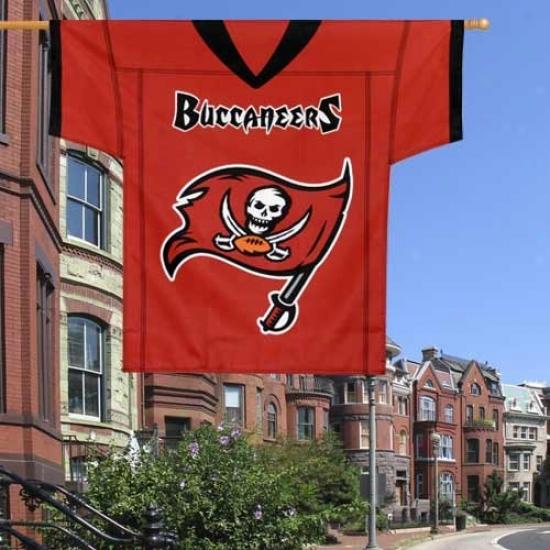 Bucs Banner : Bucs 34'' X 30'' Jersey Banner