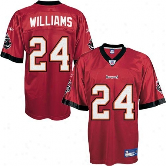 Bucs Jersey : Reebok Nfl Equipment Bucs #24 Carnell Williams Red Preschool Replica Football Jersey