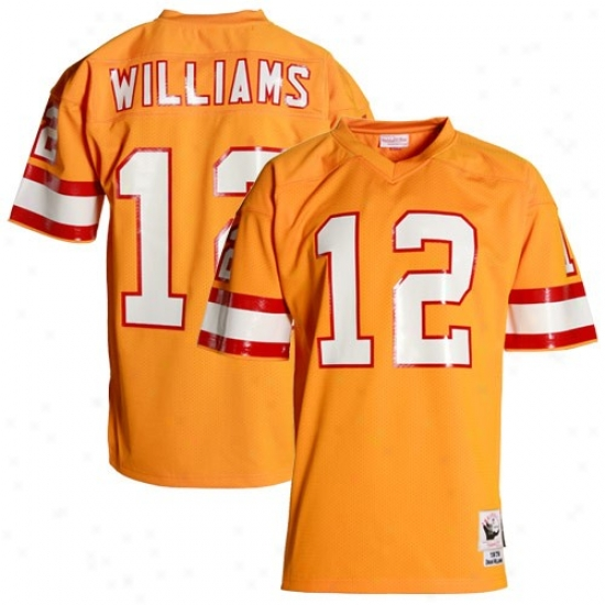 Bucs Jerseys : Mitchell & Ness Bucs #12 Doug Williams Orange Glaze 1979 Authentic Throwback Football Jerseys