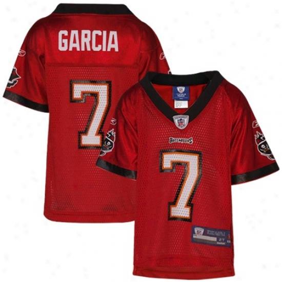 Bucs Jerseys : Reebok Bucs Toddler #7 Jeff Gaarcia Red Replica Football Jerseys