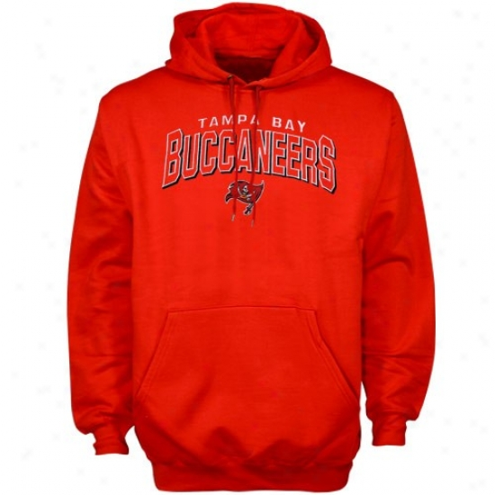 Bucs Sweatshirt : Reebko Bucs Red First And Goal Sweatshirt