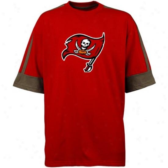 Bucs Tshirts : Bucs Red Victory Gear Tshirts