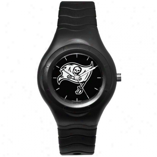 Bucs Watches : Bucs Black Shadow Team Logo Sport Watches