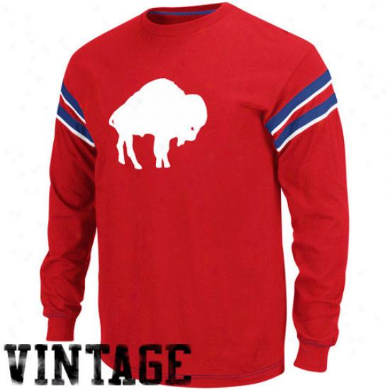Buffalo Bill Shirts : Buffalo Placard Royal Blue Legacy End Of The Line Ii Long Sleeve Shirts