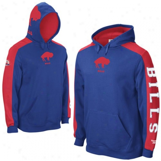 Buffalo Bill Sweatshirts : Reebok Buffalo Bill Royal Pedantic  Afl Retro Powerhouse Sweatshirts