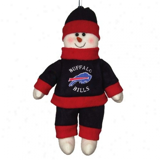 Buffalo Bills 10-inch Snowflake Friend Plush