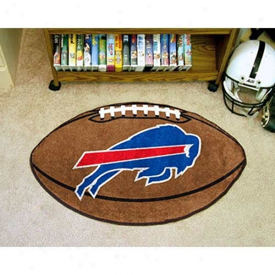 """bufffalo Bllls 22""""x35"""" Football Mat"""