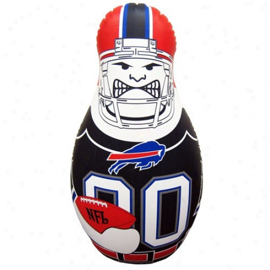 Buffalo Bills 40'' Inflatable Tackle Burdy Punching Bag