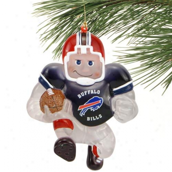 Buffalo Bills Acrylic Halfback Ornament