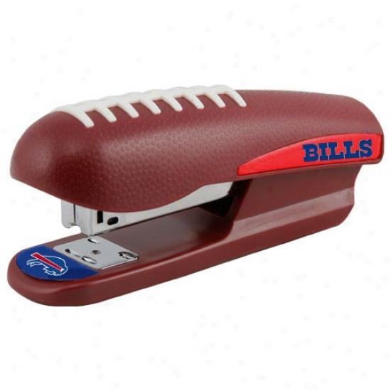 Buffalo Bills Brown Pro-grip Football Stapler