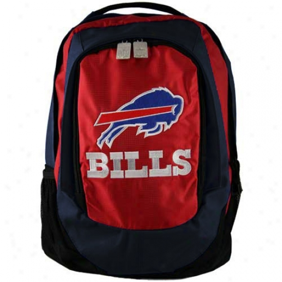 Buffalo Bills Emhroidered Team Logo Backpack