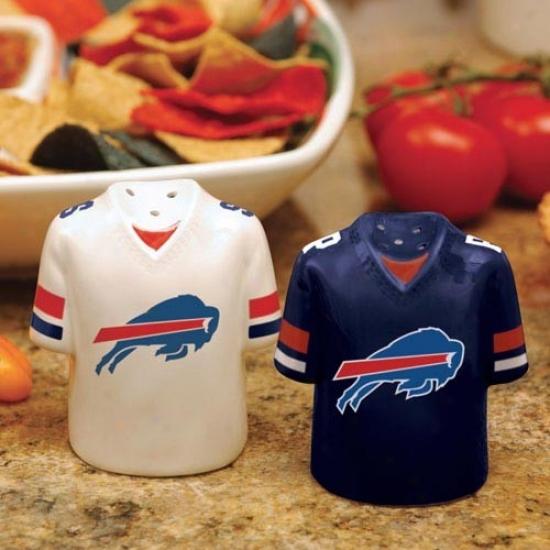 Buffapo Bills Gameday Ceramic Salt & Pepper Shakers