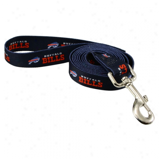Buffalo Bills Navy 6' Leash