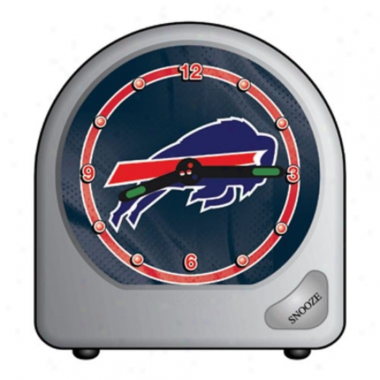 Buffalo Bills Plastic Alarm Clock