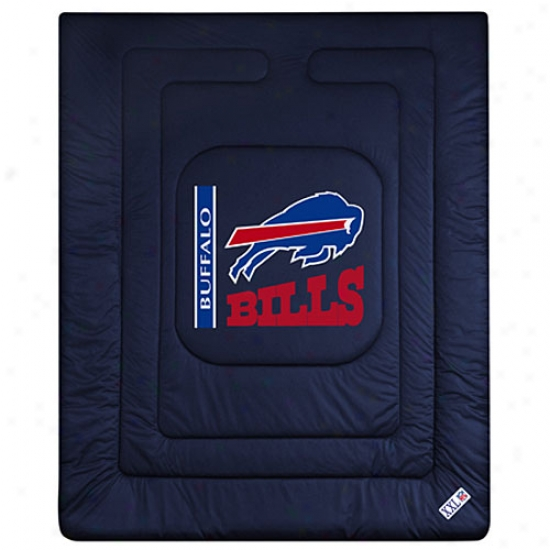 Buffalo Bills Queen/full Size Locker Room Comforter