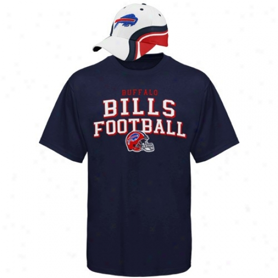 Buffalo Bills Shirt : Reebok Buffalo Bills Rivalry Hat & Shirt Combo Set