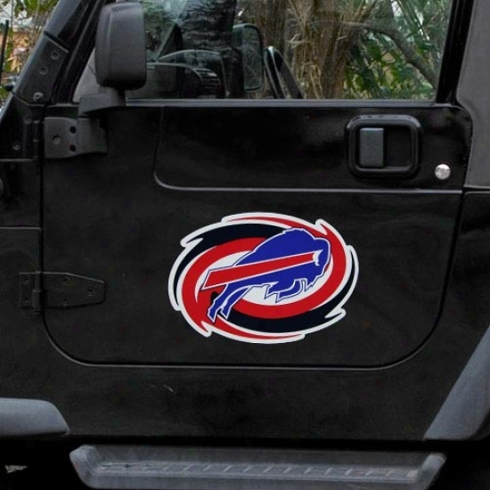 Buffalo Bills Team Logo Car Loadstone