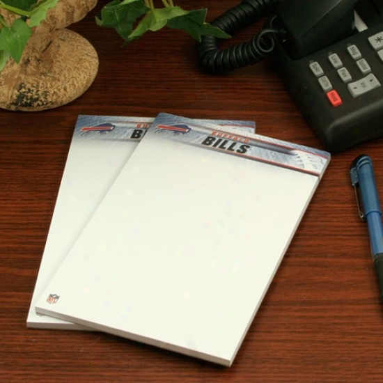 Buffalo Bills Two-pack 5'' X 8'' Team Logo Notepads