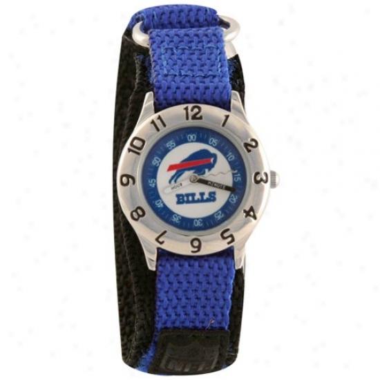 Buffalo Bills Wristt Watch : Buffalo Bills Youth Royal Azure Time Teacher Wrist Watch