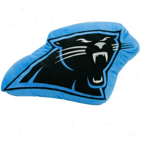 Carolina Panthers 14-inch Team Logo Plush Pillow