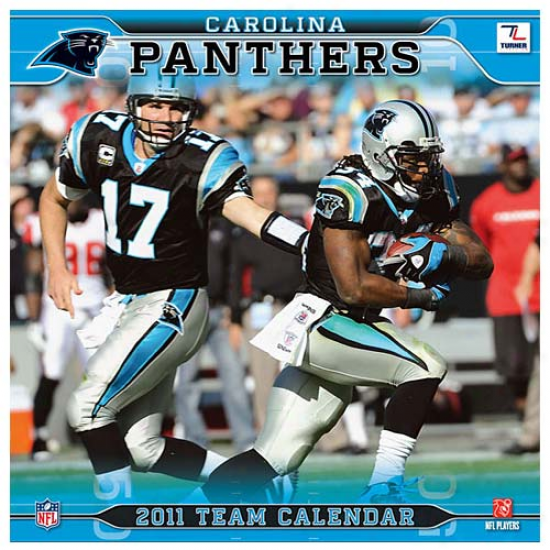 Carolina Panthers 2011 Wall Calendar