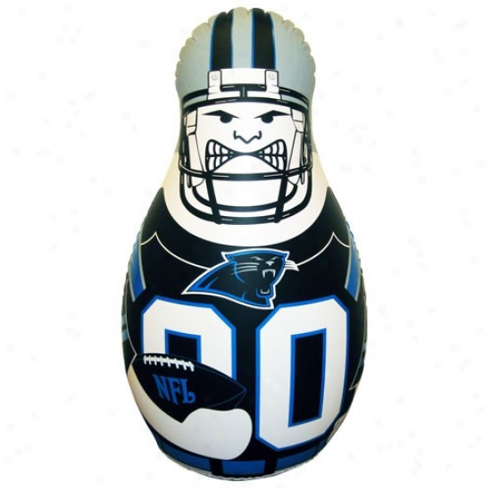 Carolina Panthers 40'' Inflatable Tackle Bjddy Punching Bag