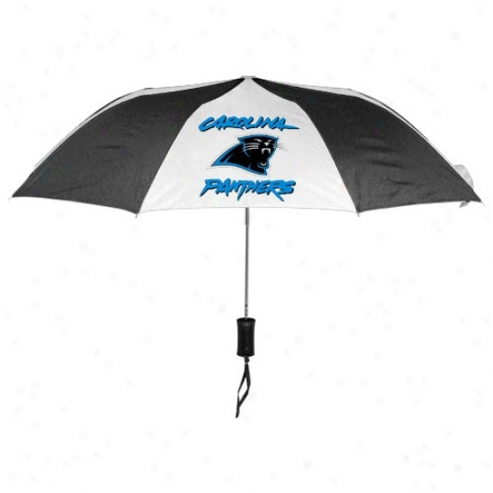 Caolina Panthers 42'' Folding Umbrella