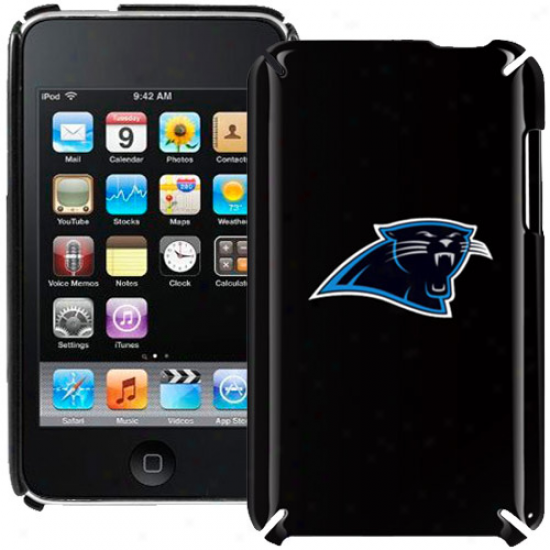 Carolina Panthers Black Ipod Touch Hard Shell