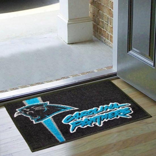 Carolina Panthers Black Starter Mat